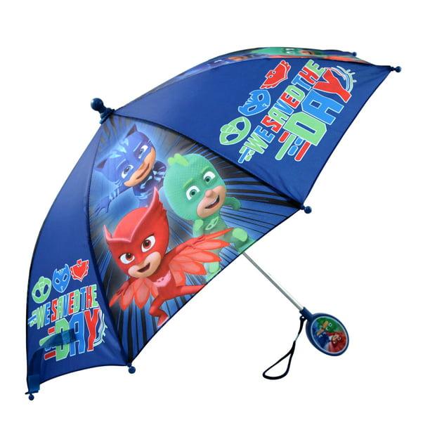 PJ MASKS umbrella with ears 3D Gekko,Catboy,Owlette brolly PJ Masks with ears