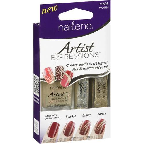 Nailene Artist Expressions Warm Nail Polish Kit