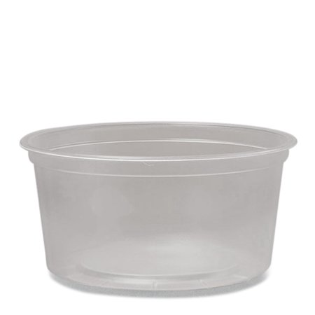 Paper Food Boats (Round Plastic Food Containers 12 Oz 4