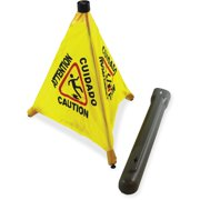 "Impact Products 31"" Pop Up Safety Cone, Yellow, Black, 1 Each (Quantity) by Impact Products"
