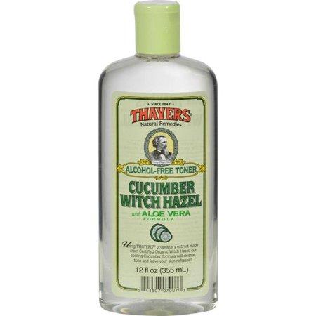 Thayers Hg0458828 12 Fl Oz Witch Hazel With Aloe Vera Cucumber