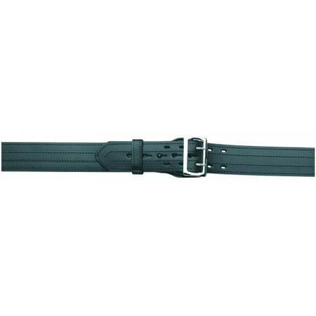 Lined Duty Belt, 4 Row Stitched, Hi-Gloss, Size 38 Lined Duty Belt Gloss