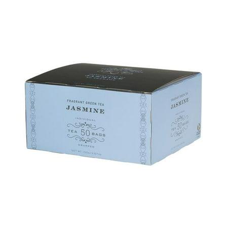 Harney & Sons, Jasmine, Fragrant Green Tea, 50 Ct