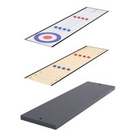 Airzone 45-in 2 in 1 Table Top Shuffleboard and Curling Board Set Deals