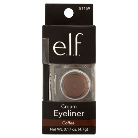 e.l.f. Cosmetics Cream Eyeliner, Coffee, 0.17 oz