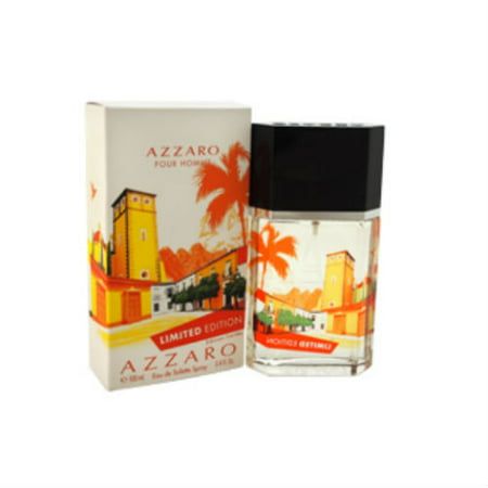 Loris Azzaro Limited Edition Azzaro Pour Homme for Men Eau de Toilette Spray, 3.4 oz