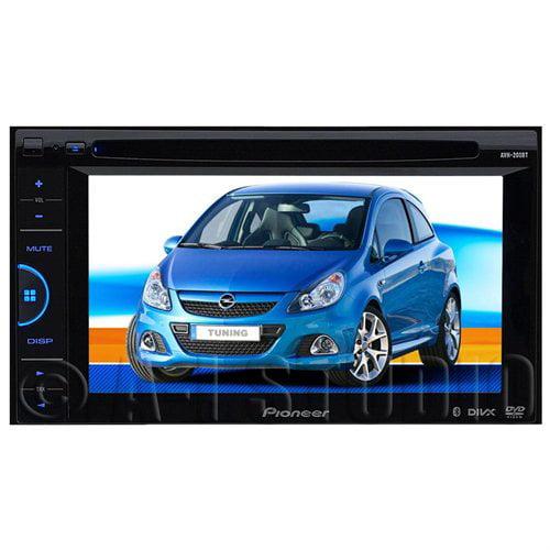 Refurbished Pioneer AVH-200BT Double-DIN DVD/CD/MP3 A/V Receiver