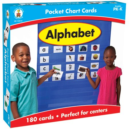 CARSON DELLOSA EDUCATION ALPHABET POCKET CHARTS GR PK-K - image 1 of 1