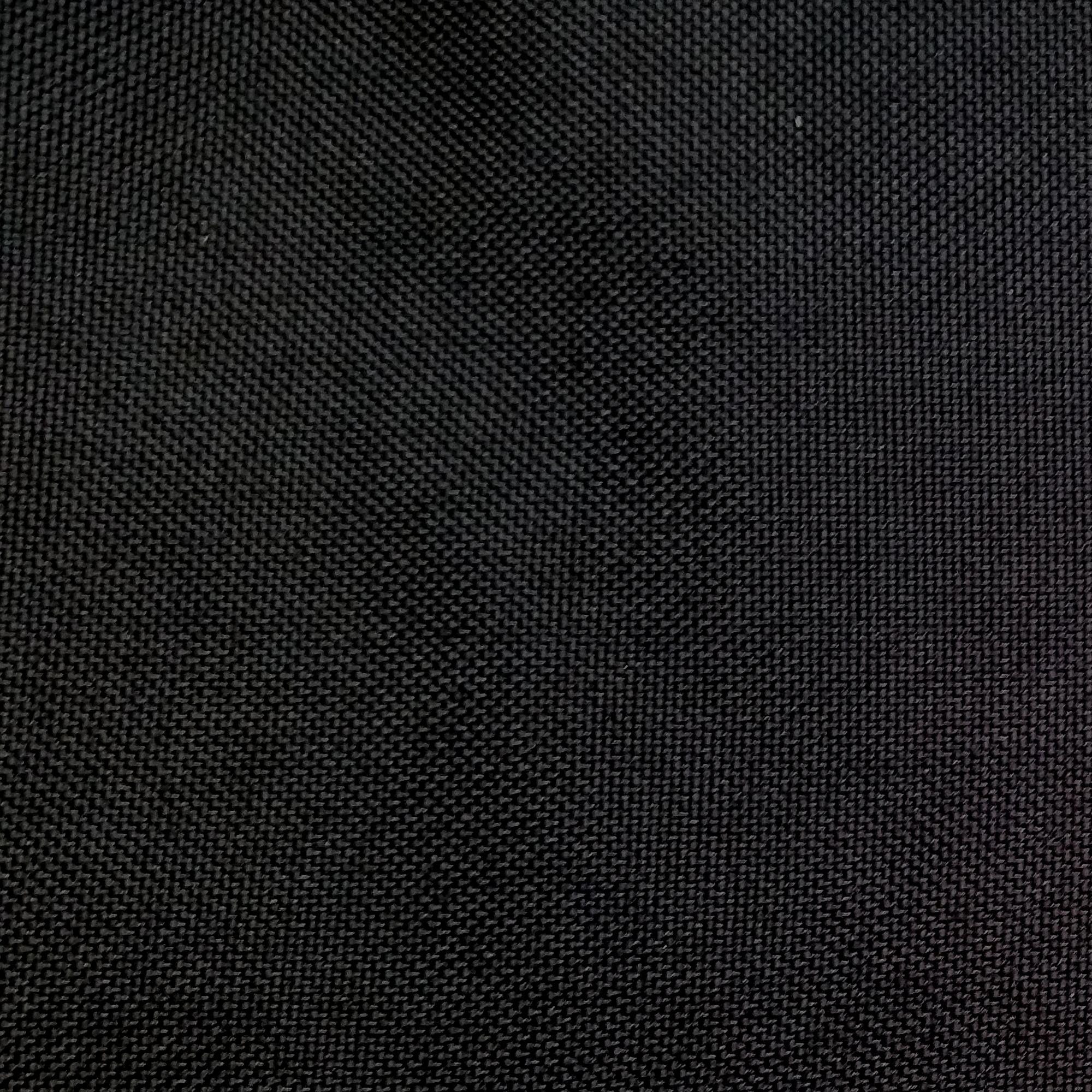 1000 Denier Coated CORDURA® Nylon, 60 Inches Wide, Fabric By the Yard, Black