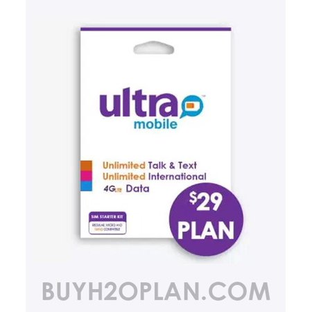 Ultra Mobile SIM Card with $29 First Month Plan Preloaded