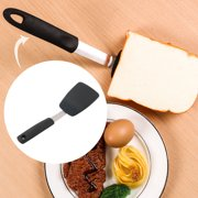 Kitchen Cooking Silicone Turner Heat Resistant Non-scratch Baking Mixing Utensils Black