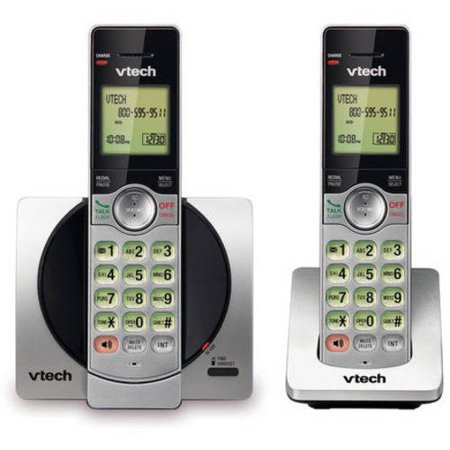 VTech CS6919-2 DECT 6.0 Expandable Cordless Phone with