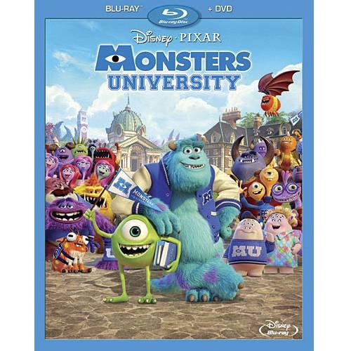 Monsters University (2-Disc Blu-ray + DVD) (Widescreen)