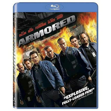 Armored  Blu Ray   Widescreen