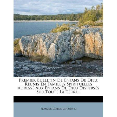 Premier Bulletin de Enfans de Dieu - image 1 of 1