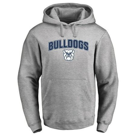 Butler Bulldogs Proud Mascot Pullover Hoodie - Ash - - Bulldog Mascot
