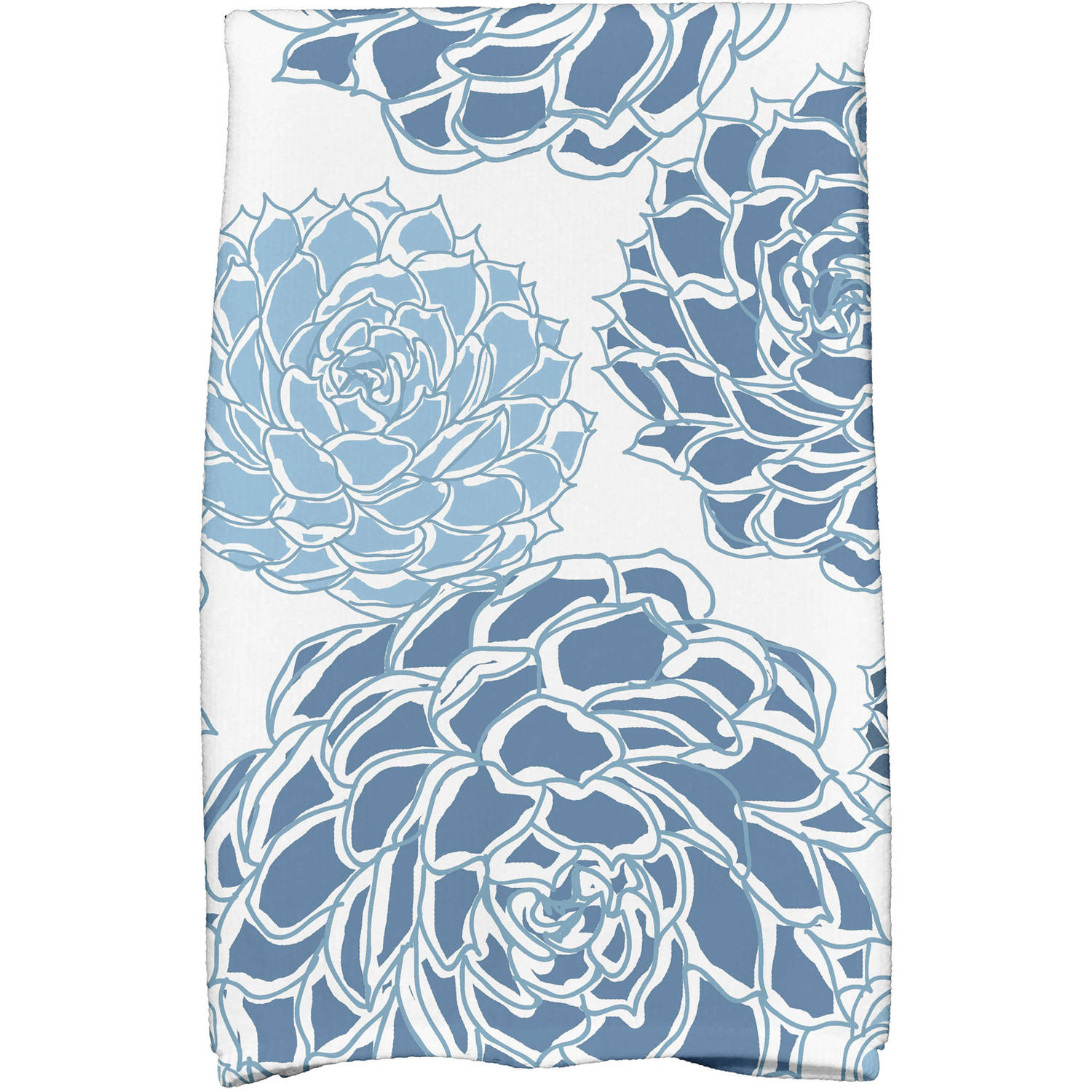 "Simply Daisy 16"" x 25"" Olivia Floral Print Kitchen Towels"
