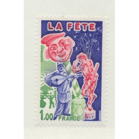 France Scott #1491 - Paris Summer Festival Issue From 1976 - Collectible Postage (Issue Stamp Cover)
