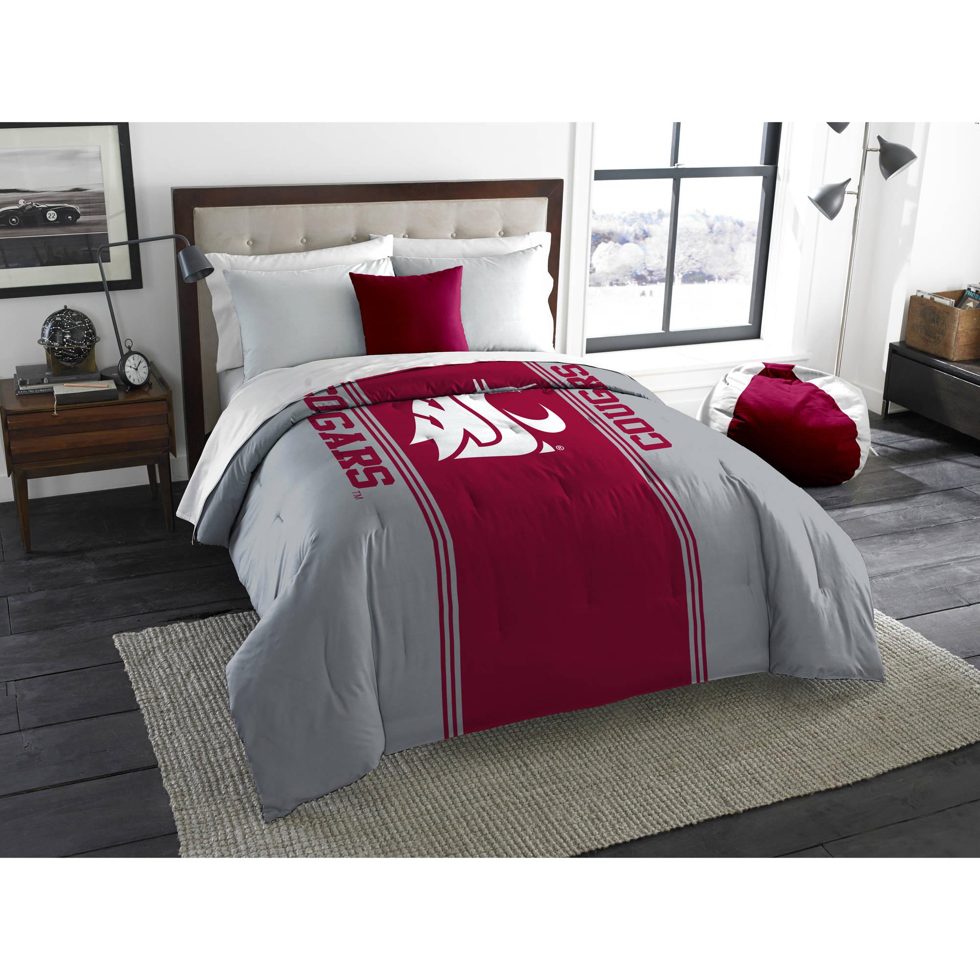 "NCAA Washington State Cougars ""Mascot"" Twin/Full Bedding Comforter"