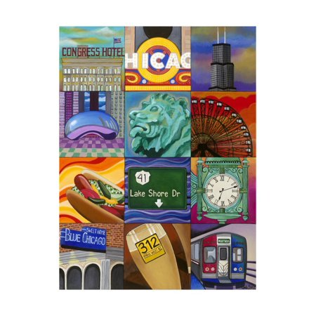 Windy City Print Wall Art By Carla Bank - Windy City Coupon