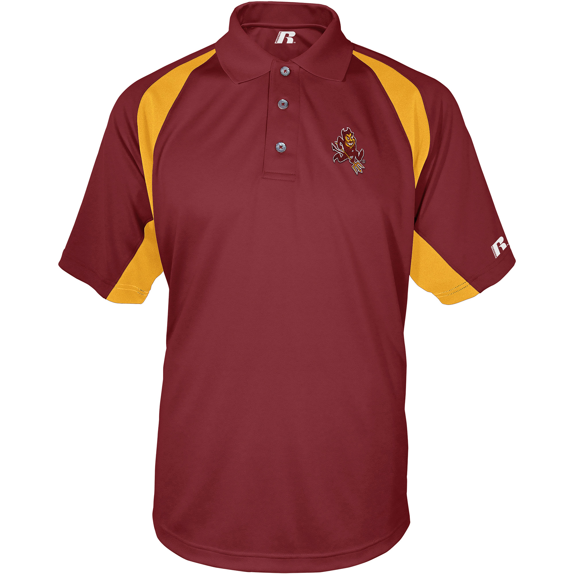 Russell NCAA Arizona State Sun Devils, Men's Synthetic Polo