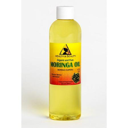 MORINGA OLEIFERA OIL ORGANIC CARRIER COLD PRESSED NATURAL FRESH 100% PURE 4 OZ