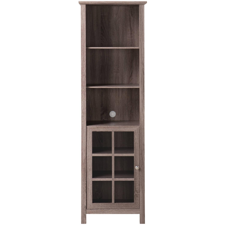 Homestar Provence Bookcase/Media Storage Pier