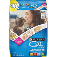 20-lb Purina Cat Chow Dry Cat Food Complete