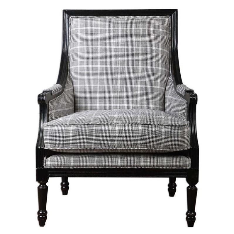 UTTERMOST Scott Wood Frame Armchair 23233