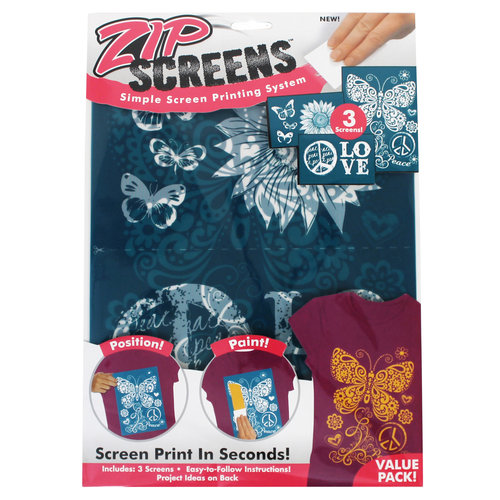 Zip Screen Value Pack, Bohemian