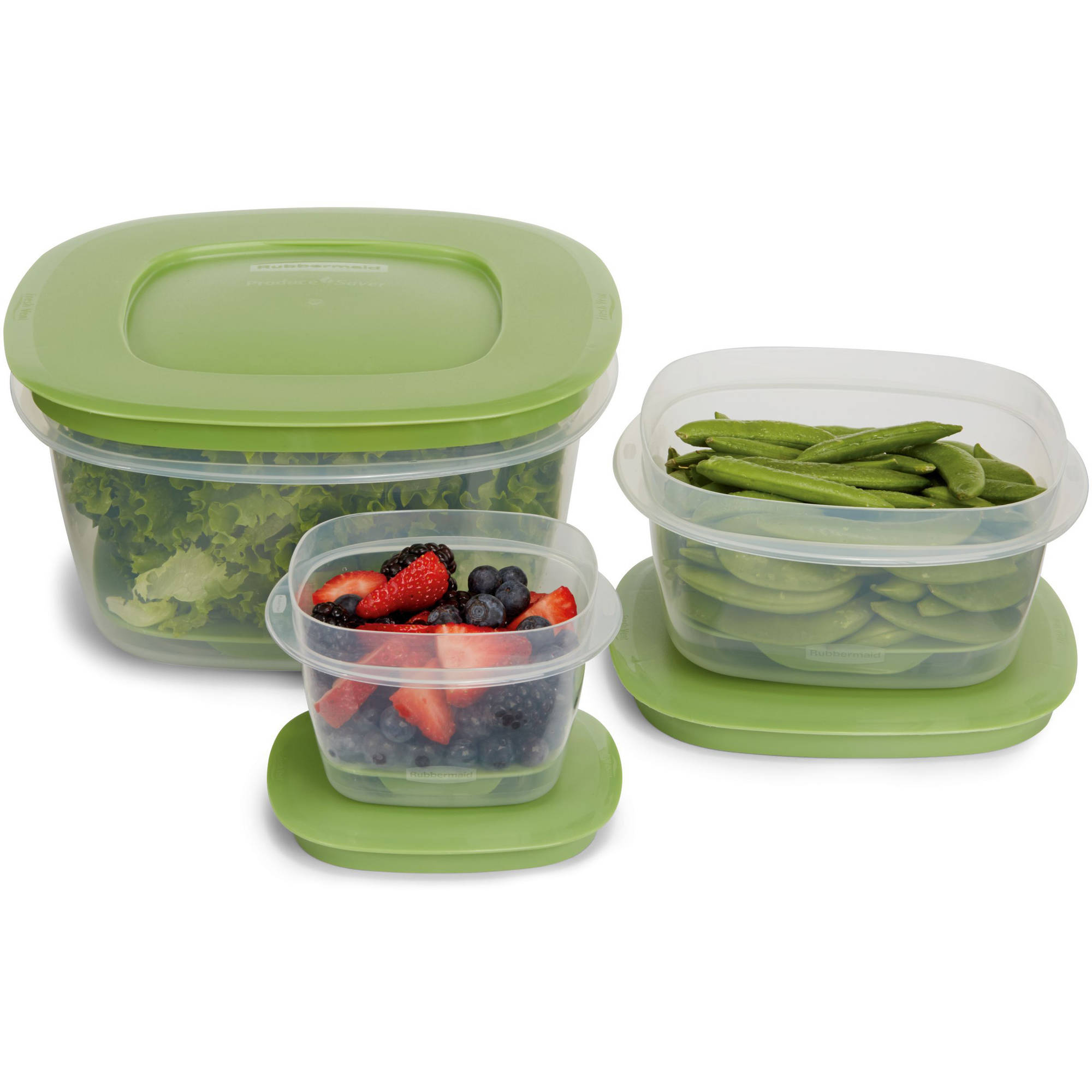 Rubbermaid Produce Saver Food Storage Container, 6-Piece Set