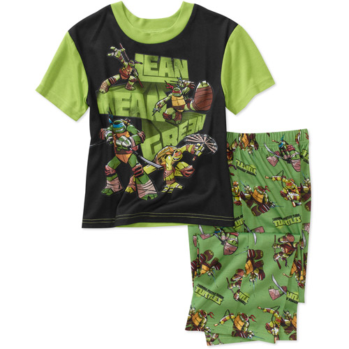Teenage Mutant Ninja Turtles Boys' 2-Piece Pajama Set