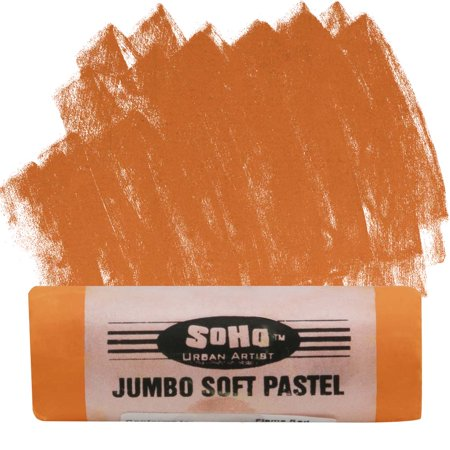 SoHo Urban Artist Jumbo Artists' Soft Pastel Stick - Flame
