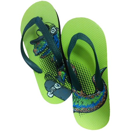 74fbbf75a332 Kics - Kics Little Boys Cool Summer Flip Flops Shower Shoes Cartoon Sandals  - Walmart.com