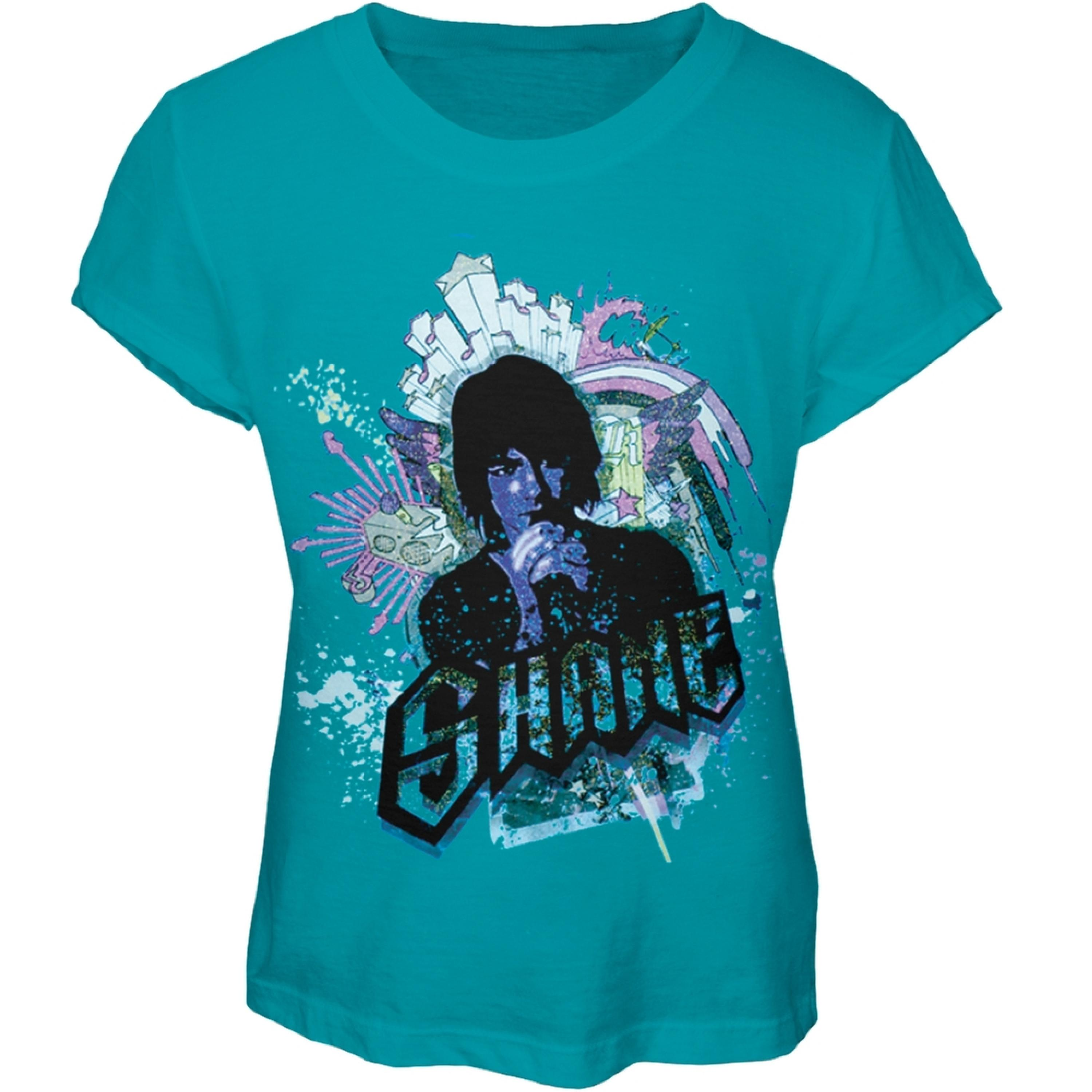 Camp Rock - Shane Graffiti Girls Youth T-Shirt
