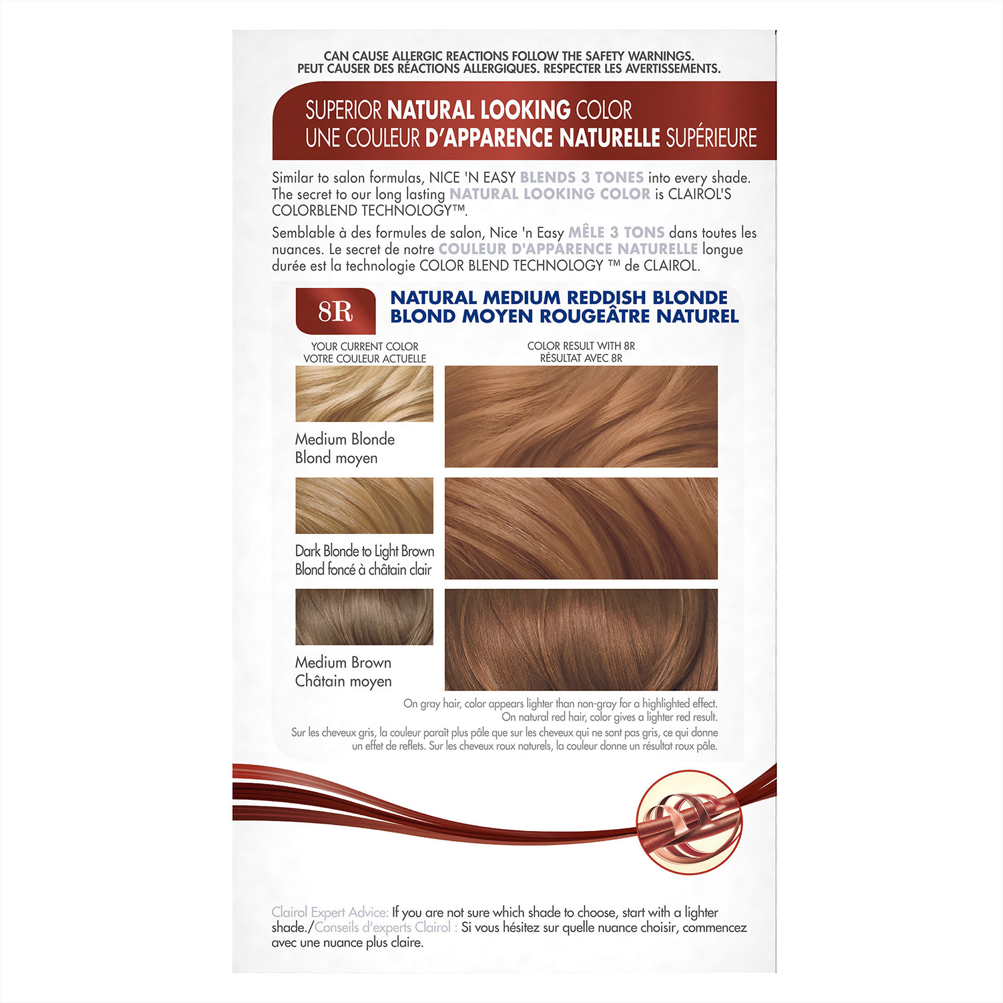 Clairol Nice \'n Easy Permanent Hair Color, 9/103 Natural Light ...