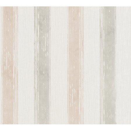 ESPRIT_8 - Natural Modern Digital Cream, Violet Wallpaper Sample - image 1 de 1