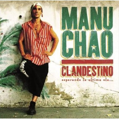 Manu Chao Clandestino CD - image 1 of 1