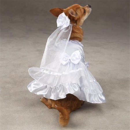 Pet Pals ZM1011 10 ESC Yappily Ever After Wedding Dress Xsm - image 1 of 1