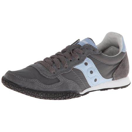 febf0da7 Saucony 1943-95 : Originals Women's Bullet Running Shoe,Dark Grey/Light Blue