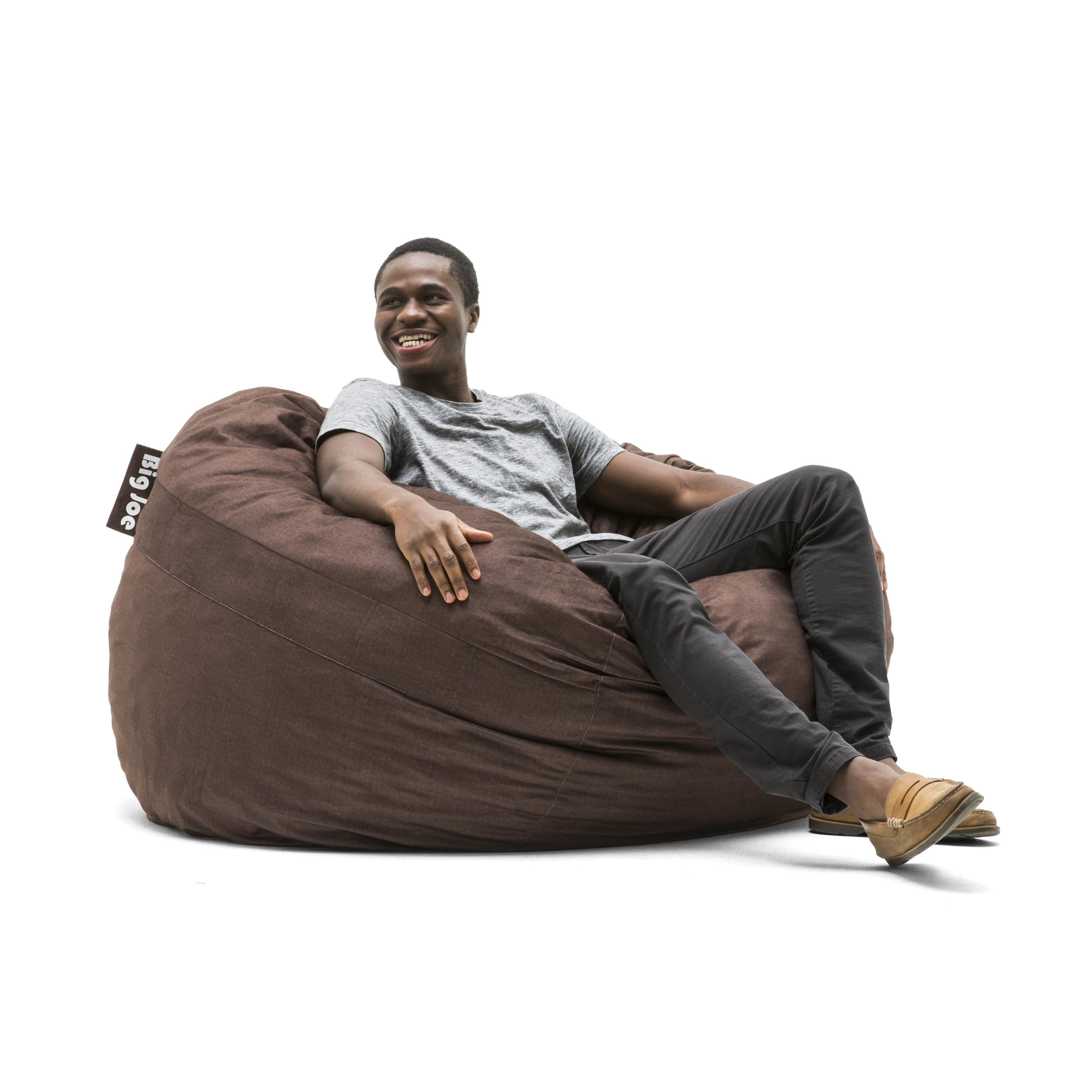 Big Joe King 5' Fuf Bean Bag Chair, Multiple Colors/Fabrics
