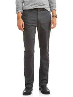 George Men's Slim Straight Chino Pant