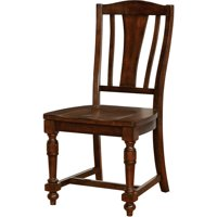 Furniture of America Safiya Transitional Dining Chair (Set of 2), Brown Cherry