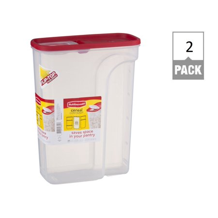 Rubbermaid Modular Cereal Keeper Food Storage Container 22 Cup Large (Pack Of