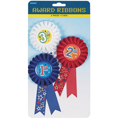 Amscan Award Ribbons, 6