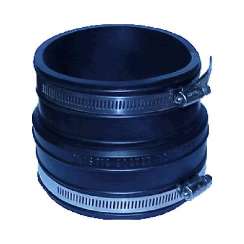 Fernco P1059-33 3 x 3-Inch Flexible Coupling Connects Soc...