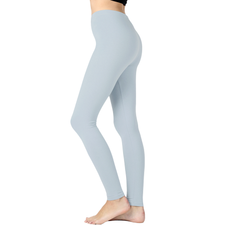 Women Premium Cotton High Waist Full Length Leggings