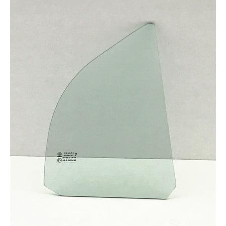 For 2001-2005 Honda Civic 4 Door Sedan Passenger/Right Side Rear Vent Window Replacement Glass ()