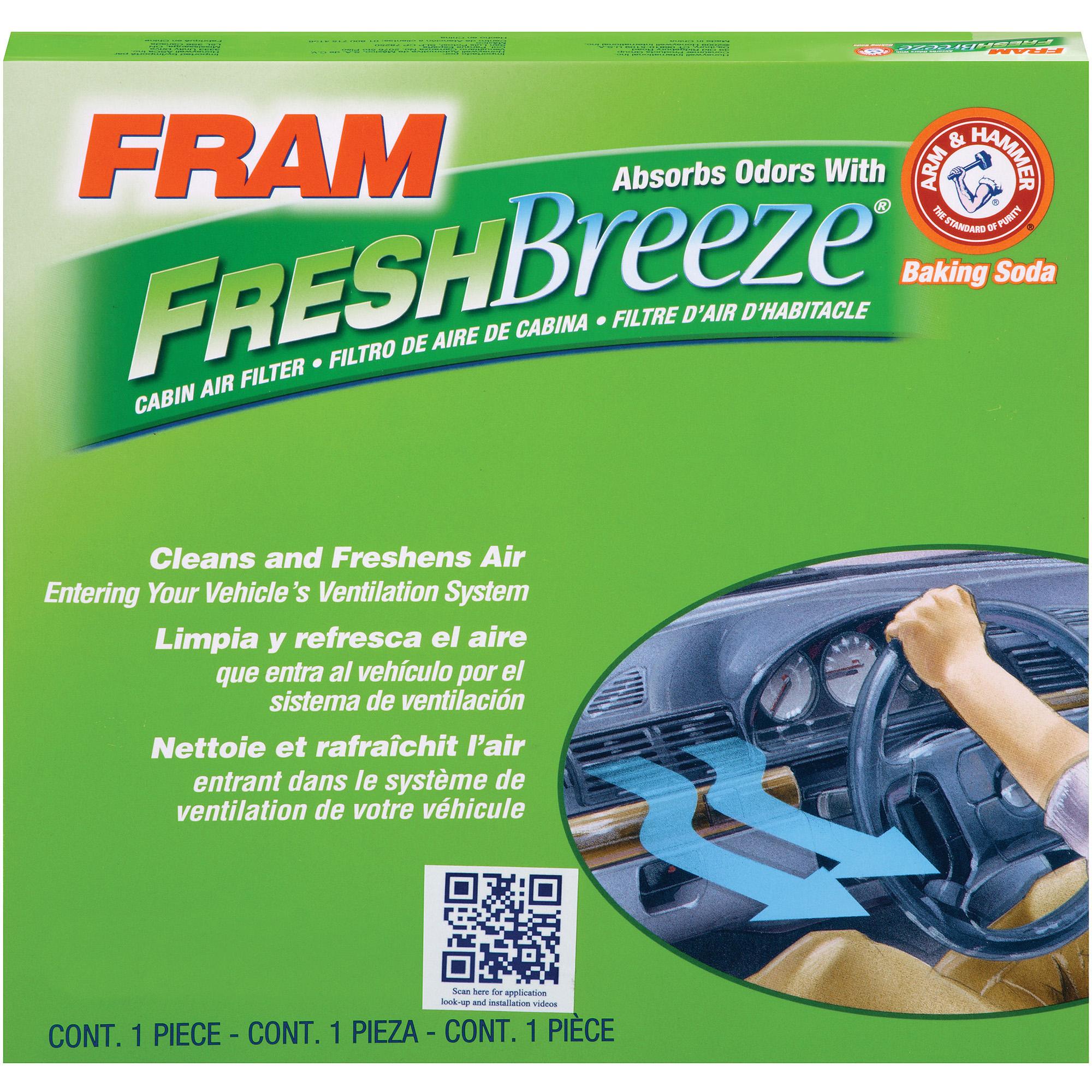 Car interior air quality - Fram Fresh Breeze Cabin Air Filter Cf10729