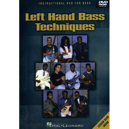 Left Hand Bass Techniques (Hand Bass Techniques Dvd)